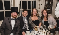 Attendees in fancy dress at the 2019 Edina Chamber of Commerce gala.