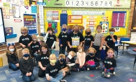 class at Creek Valley Elementary