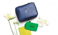 Personalized travel accessories from Bean + Ro.