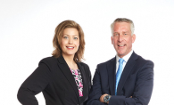 Rachel Dahl, a lawyer with Hellmuth & Johnson, and Joel Mullen of Mullen & Guttman PLLC