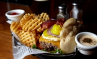 At Tavern on France, build your own burger, and enjoy it with a gluten-free beer.