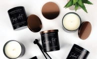 Chalkboard Candle Co. coconut wax candles and melts