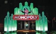 A Monopoly themed facade adorned the entrance of EHS for the 2011 all-night senior party.