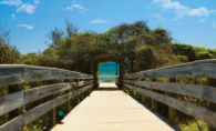 South Walton Beach, a hidden vacation spot on Florida's panhandle.