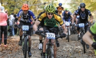 Edina Mountain Bike Team member Max Ellingson, No. 331, is part of a growing local sport.