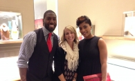 Edina Magazine editor, Angela Johnson with Greg and Nicole Jennings at David Yurman in the Galleria