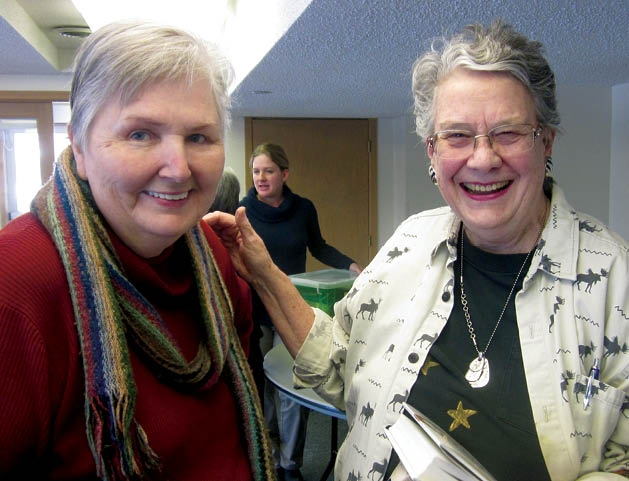 Diane Bomsta and Marcia Akins