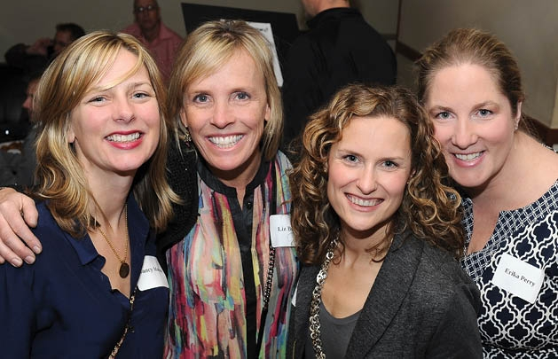 Nancy Morton, Liz Burger, Jeanine Roddy and Erika Perry
