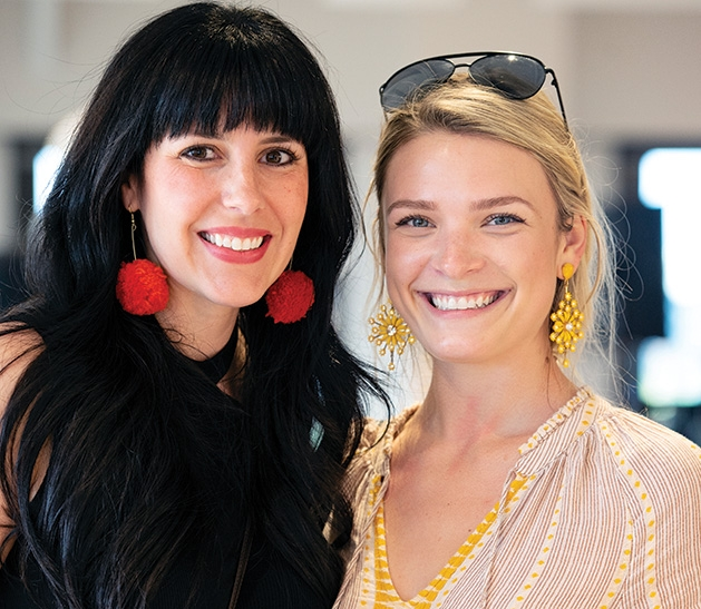 HGTV's Heather Fox poses with another Minneapolis influencer at the Evereve Minneapolis Influencer Social