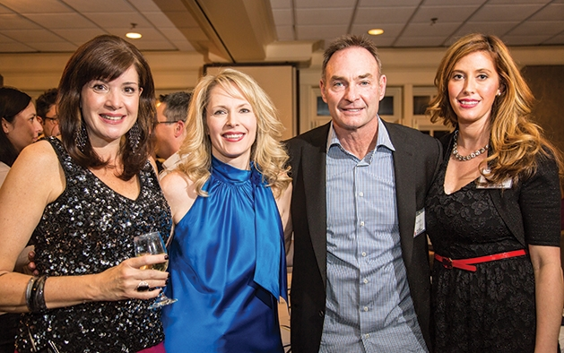 Deb Hanson, Laurie Schleeter, and Paul and Destini Molitor