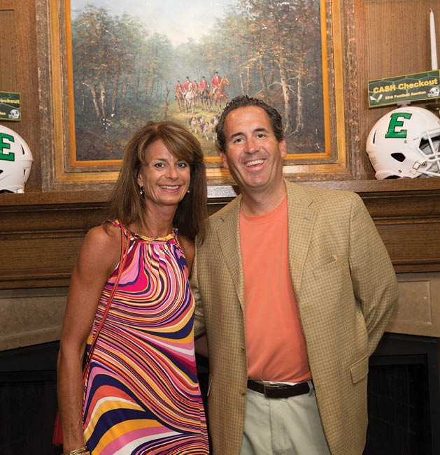 Laura Glant and Andy Holb