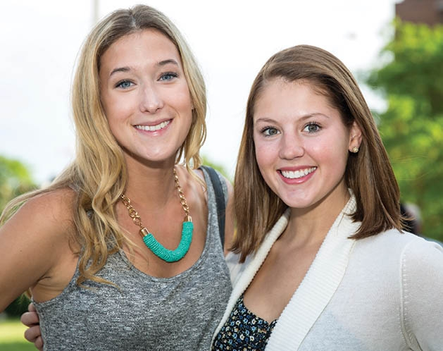 Claire Rozman and Merrit Whaley
