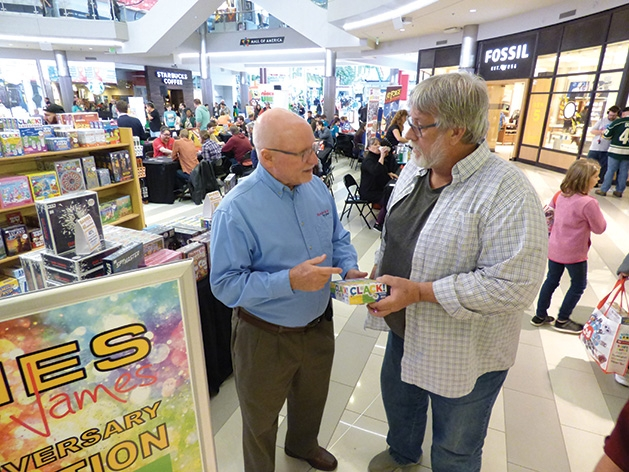 Shopper gets the lowdown on a great game for the grandkids at Games by James' 40th anniversary.
