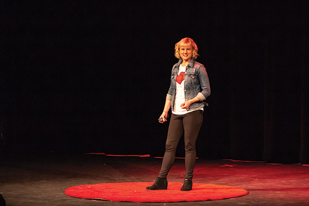 TEDx Edina Stephanie Glaros