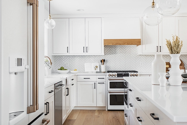Taylor Ellingson's kitchen, remodeled by Construction2Style