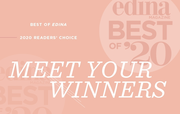 A graphic announcing the Edina Magazine Best of Edina 2020