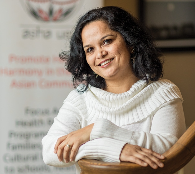 Sayali Amarapurkar, one of the founders of mental health advocacy program AshaUSA