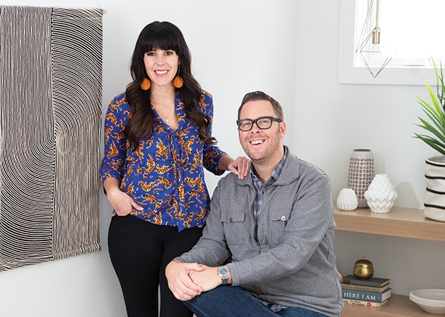 """Heather and Brad Fox, owners of Fox Homes and Foxwell and stars of HGTV's """"Stay or Sell"""""""