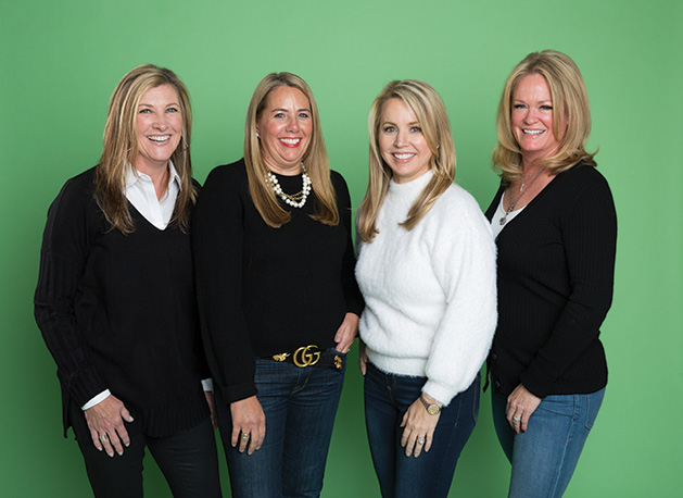 Four Edina mothers who founded the Edina Service Organization.