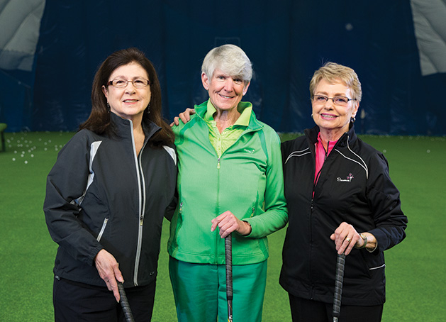 Members of the Women's Golf League at Braemar Golf Course