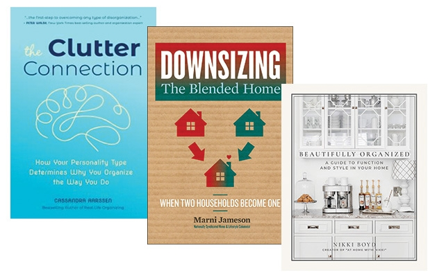 Three of the best home organization books.