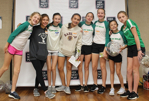 Girls at the first ever Edina Girls Sports Summit