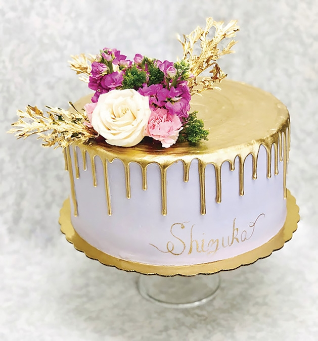 A cake from Queen of Cakes.