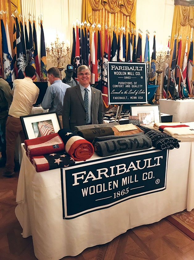 Paul Mooty at the White House Made in America Showcase.