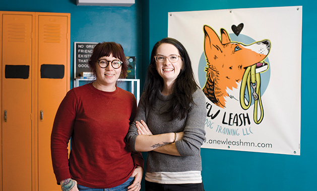 The founders of A New Leash Dog Training