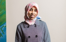 Fartun Ismail, founder of the Somali American Women Action Center