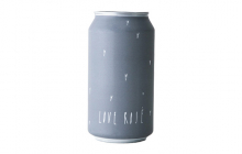 "A can of wine from Broc Cellars labeled ""Love Rose"""