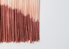 Hand-dyed yarn from Wool + Timber