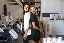 Michele Henry and Ali Nanne, the co-founders of The Face Foundry.