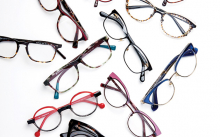 A variety of eyeglass frames from Edina Eye Physicians