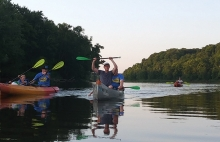 Kayakers on the St. Croix River