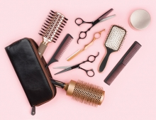 Beauty styling tools from Paul Felipe