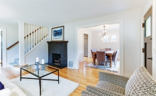 An example of home staging.