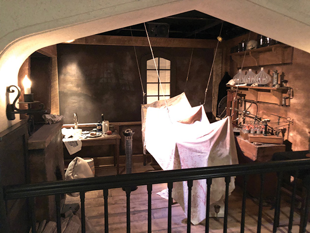 Frankenstein Laboratory at Bakken Museum