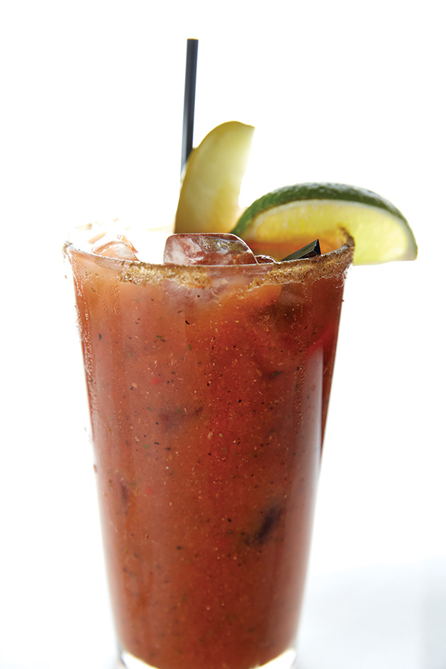 A bloody mary from The Hilltop in Edina
